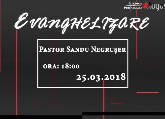 EVANGHELIZARE 25.03